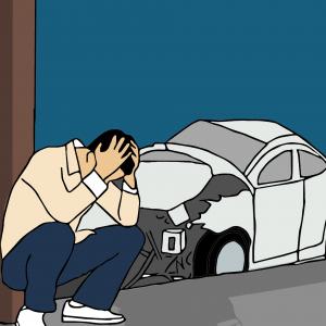 תאונת דרכים איך ממשיכים מכאן