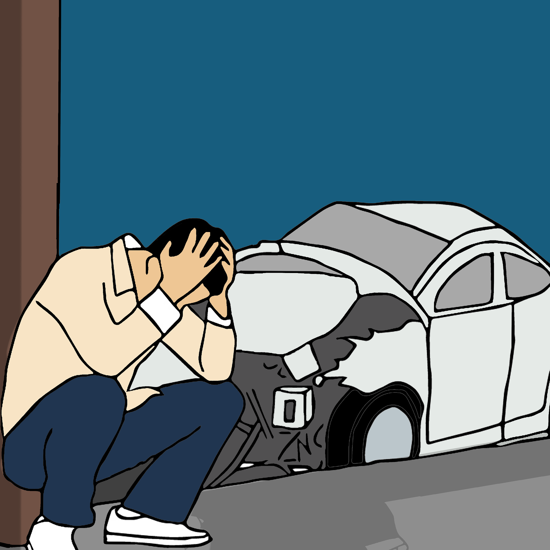 תאונת דרכים: איך ממשיכים מכאן?