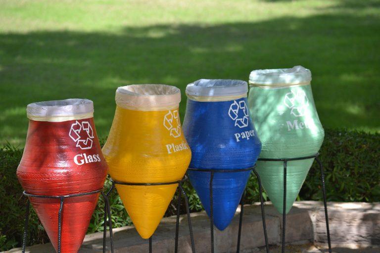 המודעות להפרדת פסולת, ומהי משמעות של צבעי פחי המחזור?